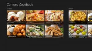 Screenshot der Beispiel-App