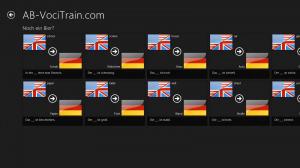 Screenshot des Vokabel-Trainers: Wörterbuch bearbeiten